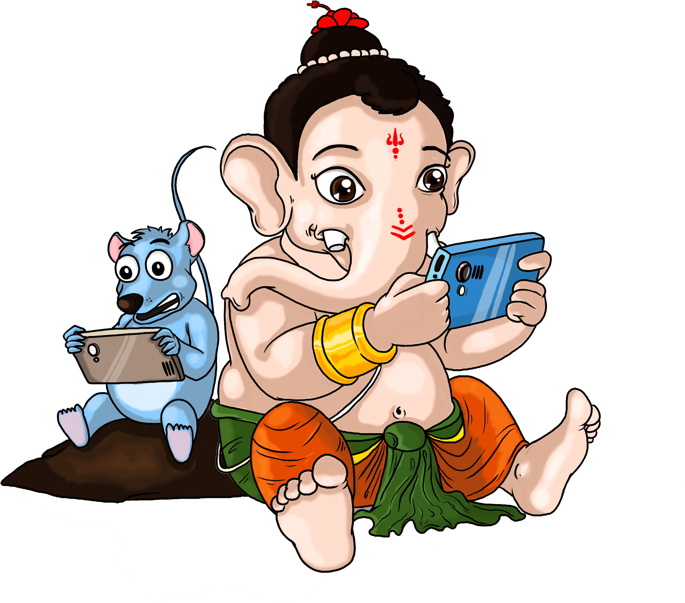 Baby Ganesha Sprookje